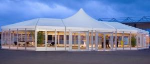 Popular aluminum pagoda tents weather resistant