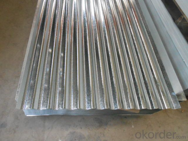 Corrugated Hot-Dipped Galvanized Steel Sheets