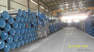 ASTM A106Gr.B seamless steel pipe FOR HOT SALE