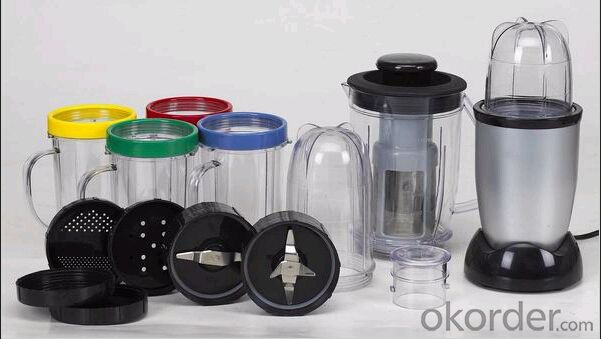 Multi-functional Blender use to mix, cook & store ingredients; microwave safe