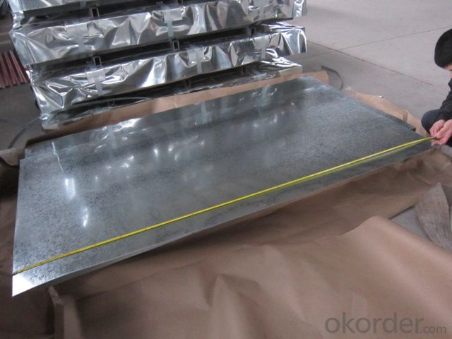 Hot-dip Galvanized Steel Sheet in  Sheet