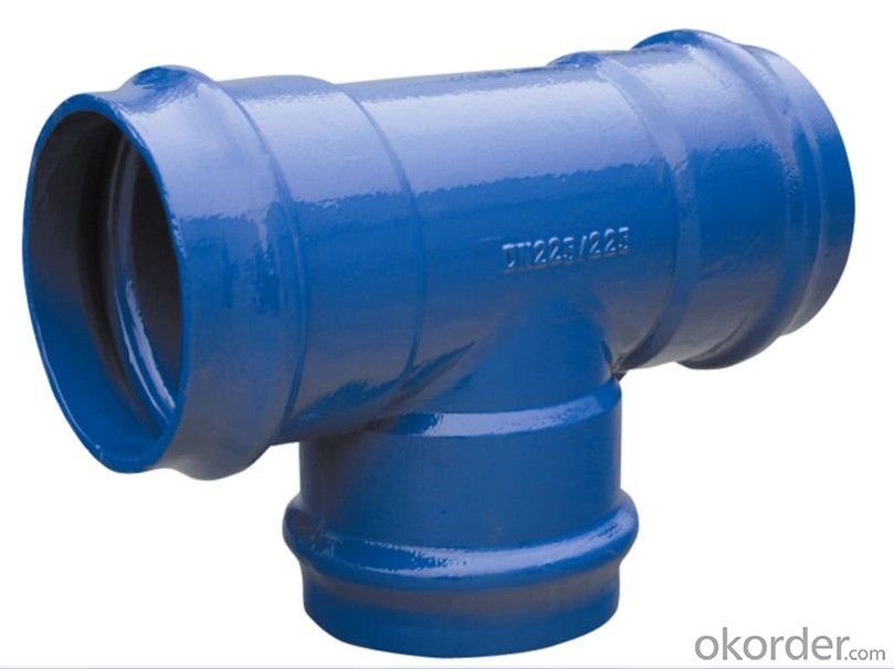 Ductile Iron Pipe Fittings For Water Pipeline Made in China