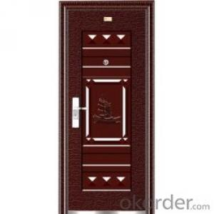 Metal Steel Security Door for Safety Decoration