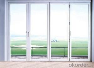 Modern Design Australian Standard Double Glazing Aluminium Folding Door
