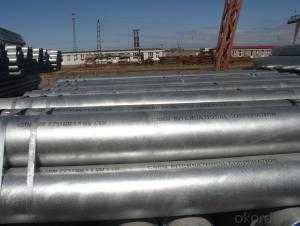 galvanized iron water pipe specification/GI pipe