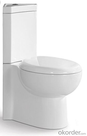 BATHROOM SANITARY WARE TWO PIECE TOILET -8521