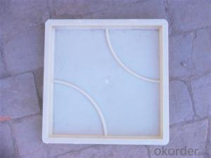 Latest injection plastic brick mold
