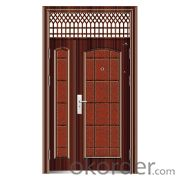 Metal Steel Safety Door for Decoration Nice Use