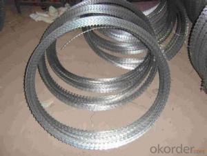 Galvanized   Razor   Barbed   Iron   Wire