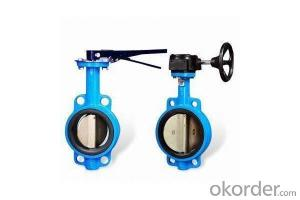 Ductile Iron flanged  Butterfly valve DN1300