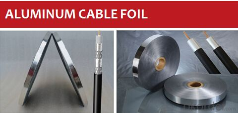 Cable Foil Mylar Foil for Shielding Coaxial Cable