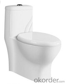 BATHROOM SANITARY WARE ONE PIECE TOILET -8044