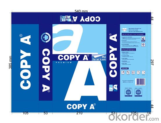 Factory Office Paper/A4 Multipurpose Paper/A4 Copy Paper/A4 Paper/A4 Photocopy Paper