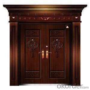 Metal Steel Security Door for Interior Use