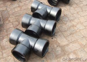 Ductile Iron Tee DN80 To DN2000 Made In China