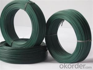 High Quality Pvc coated wire,pvc coated tie wire,pvc coated wire