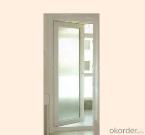 Thermal Insulation Aluminum Window Double Sash Casement Door Outward Door Double Door Design