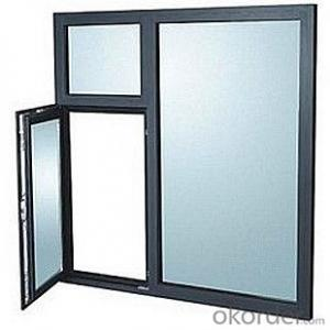 thickness 1.4 mm aluminum casement window