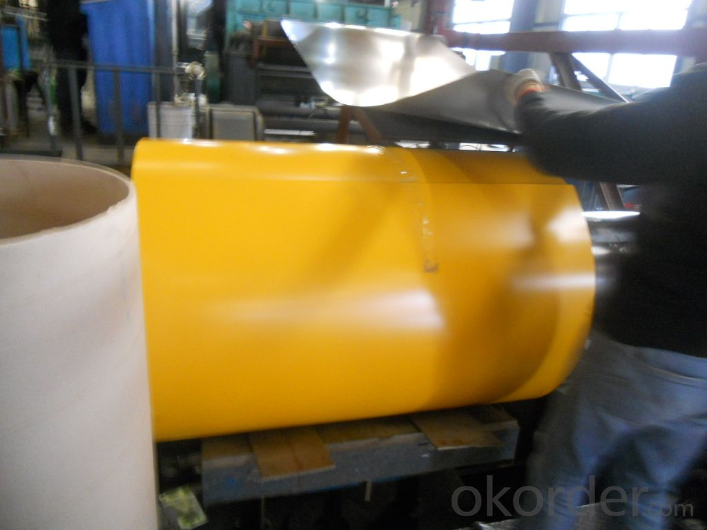 Prepainted    Galvalume  Steel  In  Coil