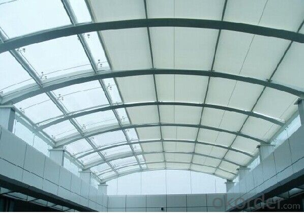 Electric Aluminum Folding Awning/Motorized Skylight Blinds