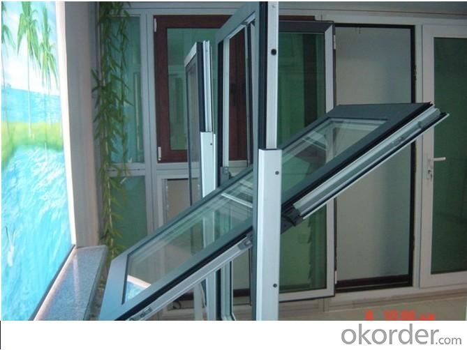 Double Glazing Elegant Aluminium Tilt and Turn Window