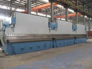 HYDRAULIC METAL PLATE CNC PRESS BRAKE ,PLATE BENDING MACHINE SIECC BENDING