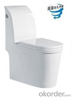 BATHROOM SANITARY WARE ONE PIECE TOILET -8048