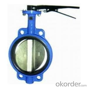 Ductile Iron flanged  Butterfly valve DN150