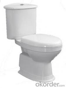 BATHROOM SANITARY WARE TWO PIECE TOILET -8511