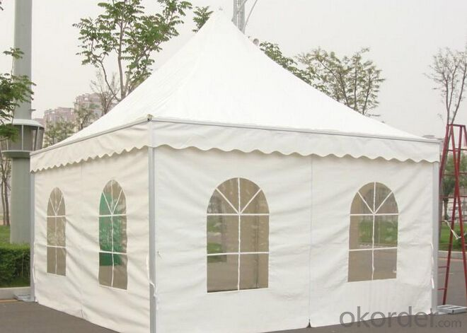 Aluminum pagoda large tents, size can be customized