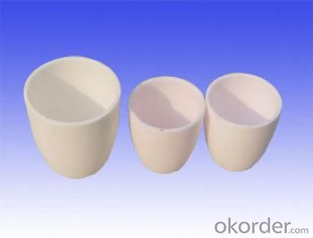 Ceramics Boron Nitride Crucible / Evaporation Boats for Metalization