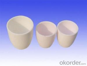 High Quality Cheap hot high alumina /zirconia ceramic crucible