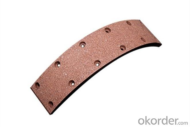 Brake  Truck Brake System Brake Shoe Lining for Truck Trailer Bus