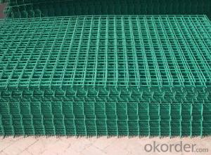 Corrosion-resisting 0.4-0.7usd/m2 PVC coated welded mesh