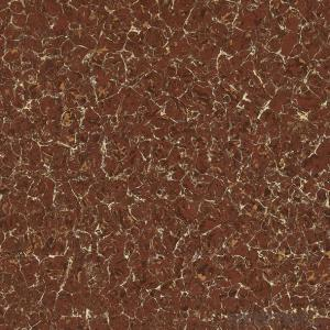 Polished Porcelain Tile Double Loading Pulati Seire Red Color 6901