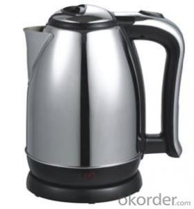 1.8 Litre Stainless Steel Electric Kettle with VDE plug