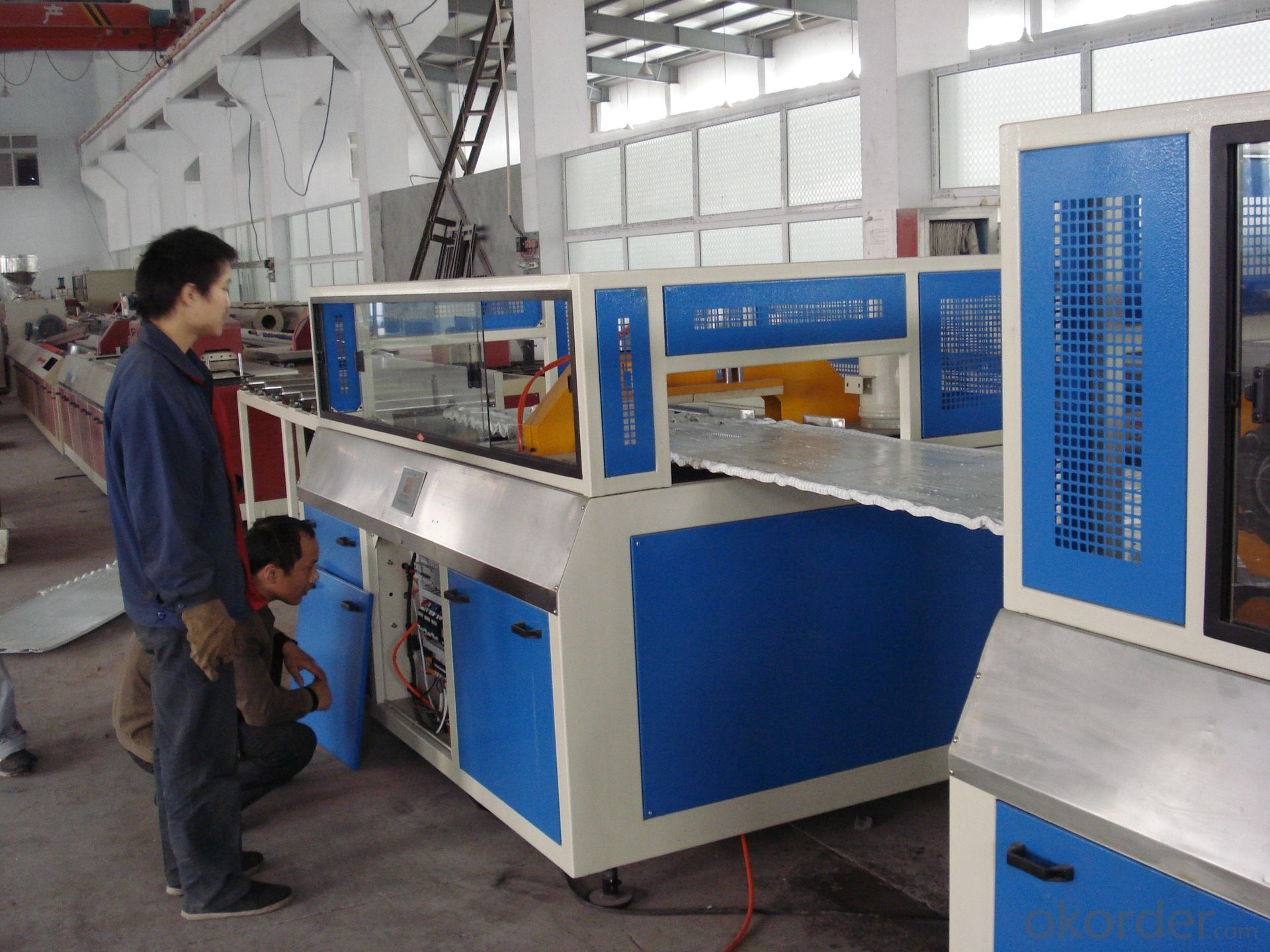 PVC skinning foam board shuttering plywood extrusion line