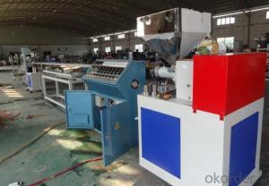 PVC/SPVC/TPE/TPV/TPO/TPU sealing strip extrusion machine / door gasket frame production line
