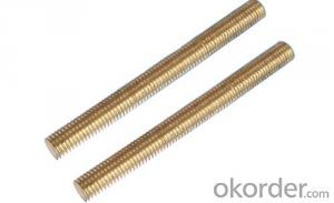 Threaded Rod High Strength Grade 4.8 with good price