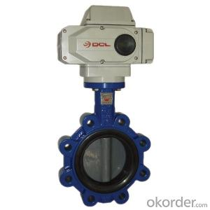 Ductile Iron Butterfly Valve On Top Sale