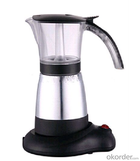 2015 New Aluminum Electric Coffee Maker