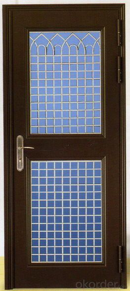 Iron Steel Security Metal Door of Hot Sale