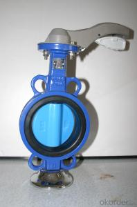 Ductile Iron Butterfly Valve Of On Sale Made In China
