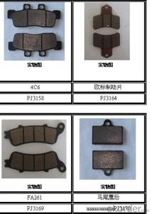 Non-asbestos/Ceramic Bus&Truck Brake Pads auto part  OEM