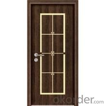 Metal Steel Safety Door for Interior Decoration Use