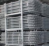 Hot dip galvanized Cuplock scaffolding system