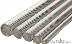 Threaded Rod Zinc Plated Grade 8.8 Made of Steel