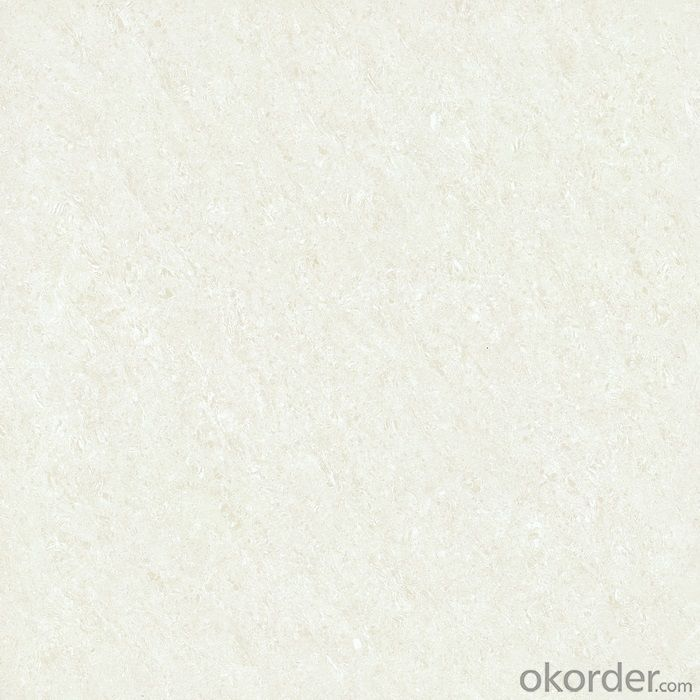 Polished Porcelain Tile Double Loading Crystal Jade White 23001