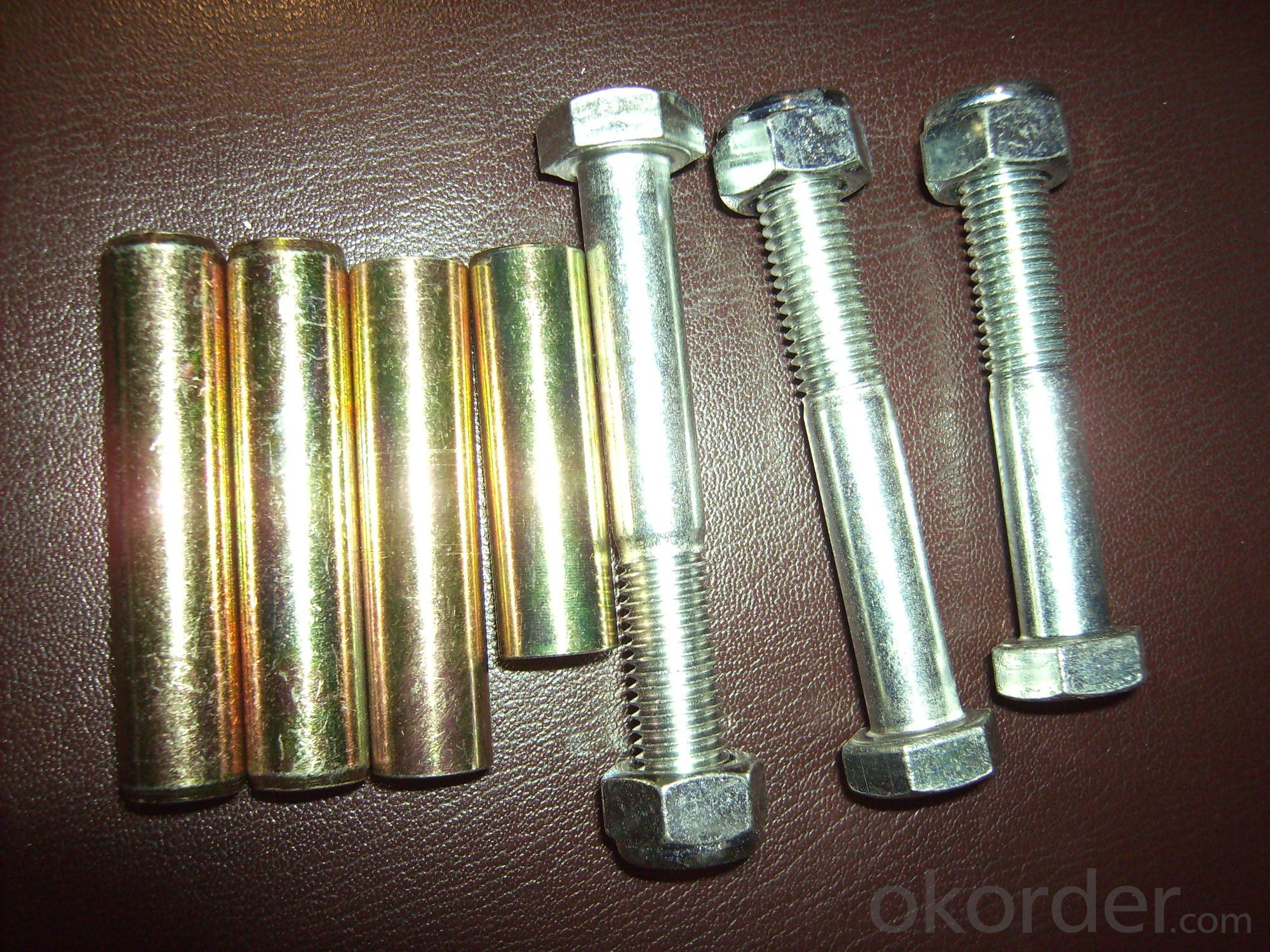 SLEEVE ANCHOR&WEDGE ANCHOR with hex nut  cnbm brand