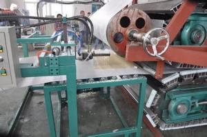 FRP pultrusion machine for continuous pu sandwich panel production line